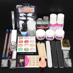 J&S Supply Uitgebreide Nailart Manicure Kit