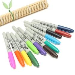 J&S Supply Gekleurde Permanente Stiften (12 Stuks)
