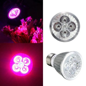 15W LED Groeilamp Met E27 Fitting