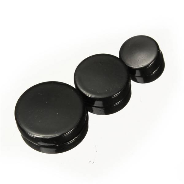 Zwarte Magnetische Oorbellen Voor Heren