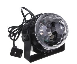 Discolamp Op Geluid