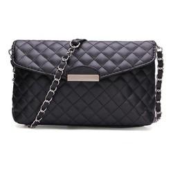 Supply Zwarte Clutch Tas met Schouderband