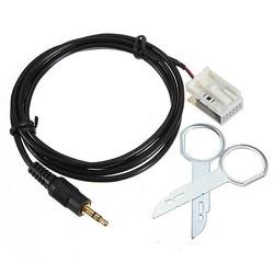 JS Auto AUX Kabel Naar 3,5mm