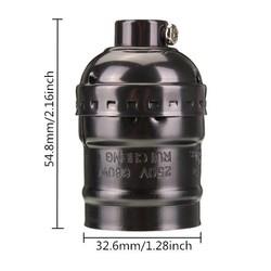 J&S Supply E27 Edison Retro Lamp Houder