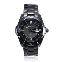 Supply Stoere Mannen Horloges Quartz Zwart RVS