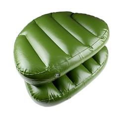 Supply Opblaasbaar Zitkussen in de Kleur Groen
