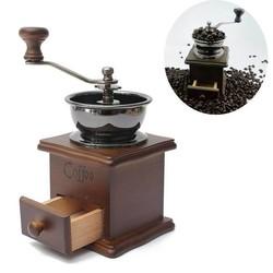 Supply Koffiemolen Handmatig Hout Retro