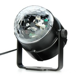 J&S Supply Mini Disco Lamp met Kristal Effect