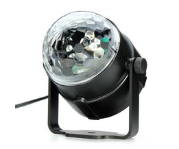 Mini Disco Lamp met Kristal Effect