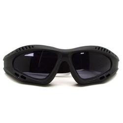Supply Motorbril met Grijze Glazen