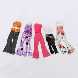 J&S Supply 5 Sets Casual Barbie Kleding