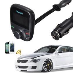 Supply Bluetooth Handsfree Carkit, Speelt Muziek via USB, Bluetooth & FM