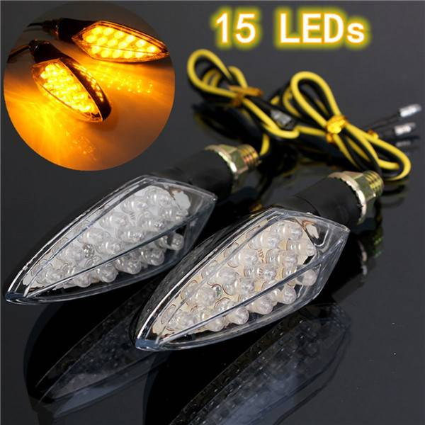 LED Knipperlichten Motor 12V Amberkleurig