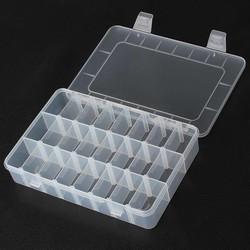 Supply Plastic Vakjesdoos met 24 Vakjes