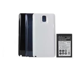 JS Batterij 6800 mAh en Back Cover voor Samsung Galaxy Note 3 N9000