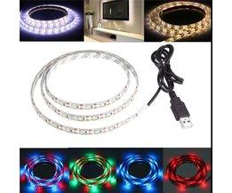 LED Strip Waterdicht 1 Meter met USB