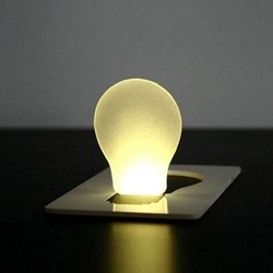 Supply LED Lamp in Kaart op Zakformaat 1st