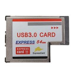 Supply Express Card 54mm met 2 USB Poorten