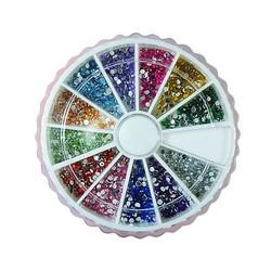 Supply Nail Art Steentjes Glitter in 12 Kleuren