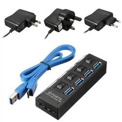 Supply Hub USB 3.0 met 4 Poorten