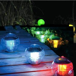 J&S Supply Drijvende Tuinverlichting Op Zonne Energie