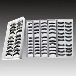 Supply Modieuze Zwarte Valse Wimpers 10 Paar