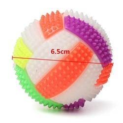 JS Mini Volleybal met Stekels en LED Licht