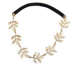 Gouden Haarband Met Hangertjes