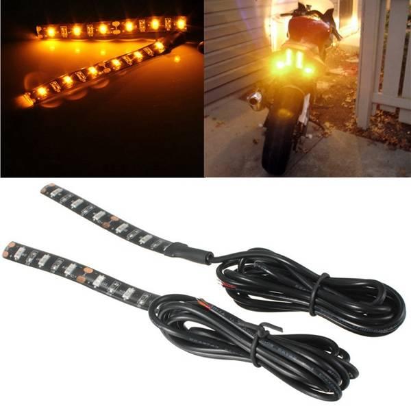 LED Strips Als Richtingaanwijzers