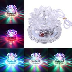 JS Disco LED Verlichting Lotus Bloem