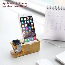 Supply Houten Docking Station Voor Apple Watch & iPhone