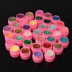 J&S Supply Nail Art Glitter Gel