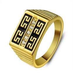 Supply Ring Man met Gouden Kleur