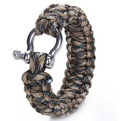 J&S Supply Survival Paracord Armband met Beugelsluiting