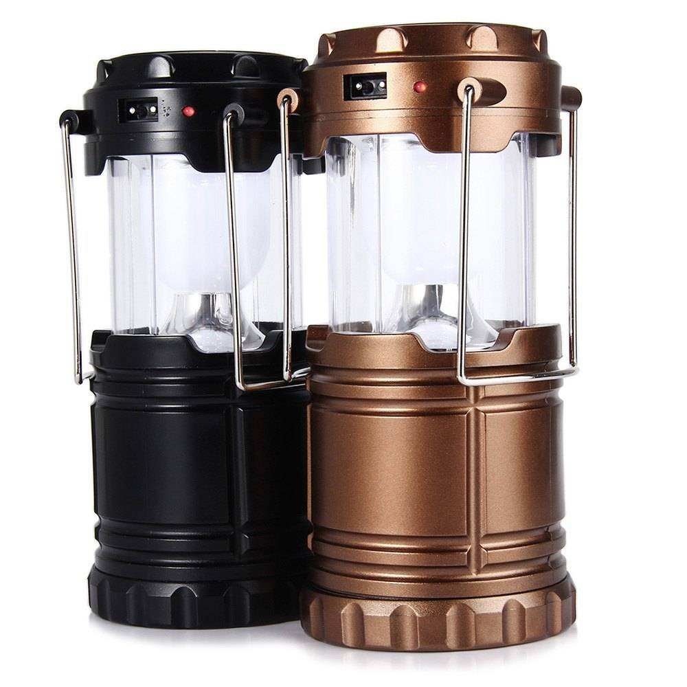 Camping Lamp Zonne-energie LED Batterijen USB