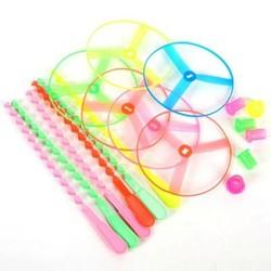J&S Supply Vrolijk Gekleurde Plastic Speelgoed Propeller