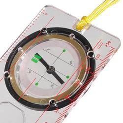JS Vloeistof Kompas met Liniaal, Hoekmeter en Vergrootglas