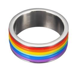 Supply Regenboog Ring 9mm Breed van Titanium
