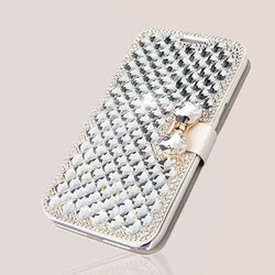 Supply Hoesje voor iPhone 6 Plus met Glittersteentjes
