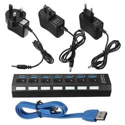 Supply USB Stekkerdoos met 7 Poorten