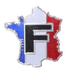 J&S Supply 3D Auto Embleem Frankrijk