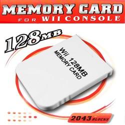 Nintendo 128MB Geheugenkaart voor Nintendo Wii en Gamecube