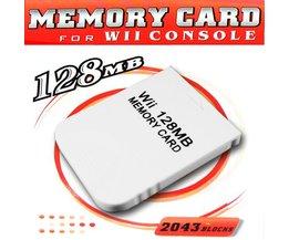 128MB Geheugenkaart voor Nintendo Wii en Gamecube