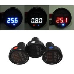 Supply 3in1 LED Thermometer Voltmeter en USB Lader