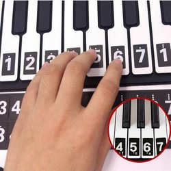 J&S Supply Piano Stickers