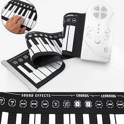 JS Oprol Keyboard En Piano In Eén