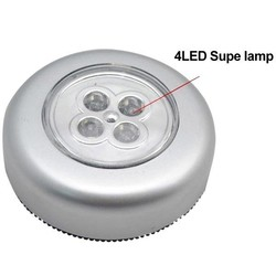 Supply Druk Lampje 4LED voor Camping Badkamer Auto