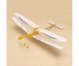 Vliegtuigje Met Elastiekje