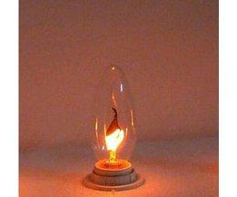 Vlamp Lamp in Edison Stijl E14 3W