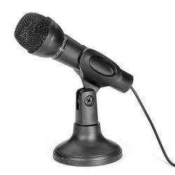 J&S Supply Microphone Pour Karaoké Connectable à un Ordinateur